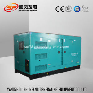 250kVA principali 200kw Cummins silenzioso alimentano il generatore diesel in azione