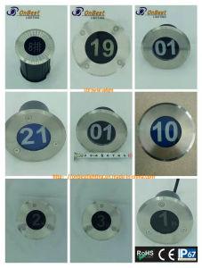 Indicatore luminoso sotterraneo chiaro della presa di fabbrica LED 3W LED in IP67