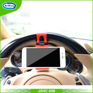De beste Houder van de Telefoon van de Cel van de Auto van de Kwaliteit Universele, Houder van de Auto van het Stuurwiel van de Gesp van de Houder van de Auto van de Telefoon van de Lage Prijs de Slimme