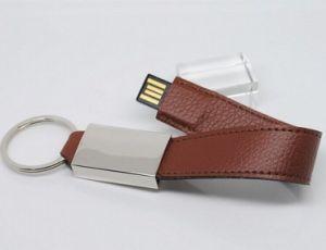 最新の革手首USBのフラッシュ駆動機構(OM-L822)