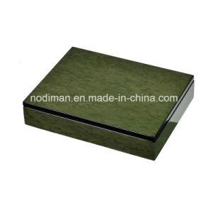 Regalo/casella cioccolato/di dati/contenitore di vigilanza di legno verdi di lusso