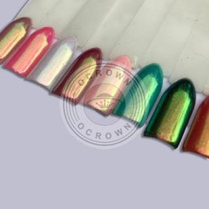 Het Pigment van het Chroom van de Eenhoorn van de Spiegel van de Regenboog van de Dageraad van het kameleon voor het Art. van de Spijker
