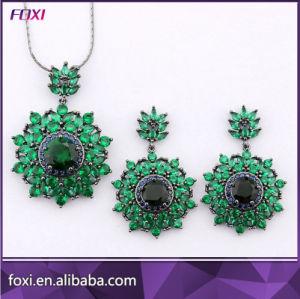 Оптовая торговля циркон украшения в форме сердечка дизайна моды наборов ювелирных изделий