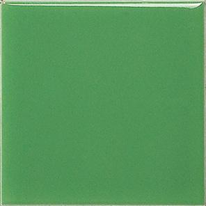 De groene Chinese Tegel van de Ceramiektegel van het Plein van de Versiering van de Tegel van het Metaal van 6X6inch/15X15cm