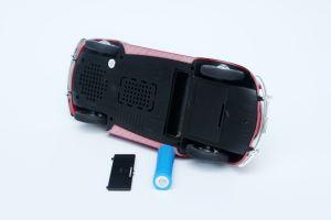 Mini altoparlante senza fili astuto senza fili portatile della lampadina del LED con la radio della scheda FM di TF