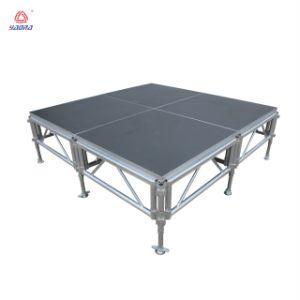 직업적인 디자인 알루미늄은 단계 옥외 연주회 단계를 조립한다