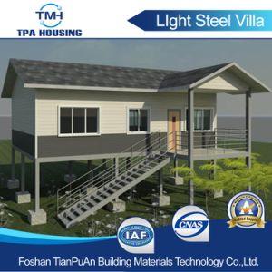 2017의 형식 고품질 Prefabricated 가벼운 강철 별장 집