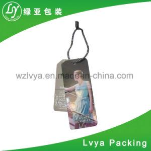 Equipaje personalizada impresión de etiqueta de colgar las prendas de vestir removedor de etiquetas de seguridad