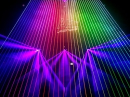 De volledige Staven van de Laser van de Regen van de Laser van de Straal van het Effect van de Laser van DJ van de Serie van de Laser van de Kleur RGB Scherpe Professionele