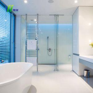 O vidro temperado porta do chuveiro com marcação, ISO9001, CCC