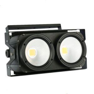 Dos ojos de la audiencia de LED de alta potencia Blinder Blinder etapa LED ilumina el LED de luz de la etapa
