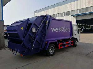 Isuzu HOWO 5m3 Verdichtungsgerät-Abfall-LKW