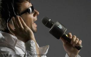 Altoparlante senza fili portatile di Bluetooth di karaoke del giocatore del Mic del microfono record magico di musica