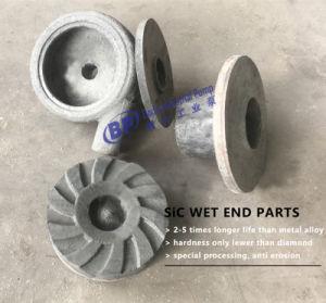As peças da bomba de chorume de cerâmica