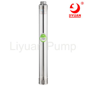 China-versenkbare Wasser-Pumpen-Hersteller - 4 Zoll-Edelstahl-Kopf