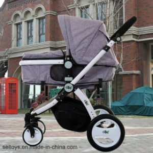 ライト級選手の調節可能な傘のベビーカーのベビーカーの携帯用乳母車の耐震性のベビーカー