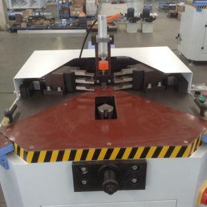 Einzelne Hauptaluminiumfenster-Rahmen-Eckquetschverbindenmaschine