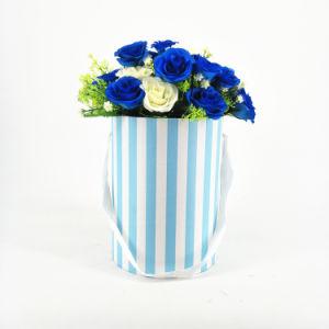 La Ronda de cartón resistente al agua Caja de flores frescas