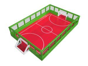 Im Freien aufregender aufblasbarer Seifen-Fußballplatz für Kinder Chsp202s
