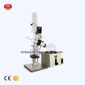 Vaporizador de vácuo de laboratório Instrumento Rotavapor Evaporador rotativo