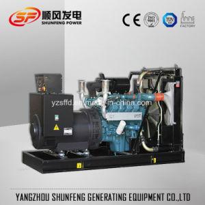 Water-Cooled 300квт электроэнергии с генераторной установкой Doosan дизельного двигателя