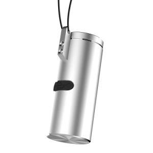Trasduttore auricolare di Bluetooth di stile della collana Q20 con la capsula portatile del caricatore del metallo