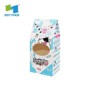 Venta caliente impresión personalizada de la barra de chocolate de Papel de Embalaje Embalaje