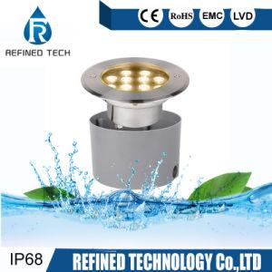 IP68 12W de alta potencia 15W 18W de acero inoxidable 316L LED empotrado bajo el agua de la luz de la piscina