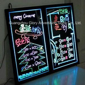 電子Desktopled LED点滅の執筆表示板