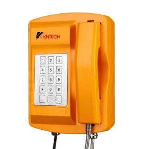 IP Waterdichte Telefoon IP67, de Telefoon van de Noodsituatie van Kntech