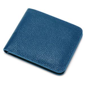 A qualidade da marca de luxo casual em pele genuína Wallet