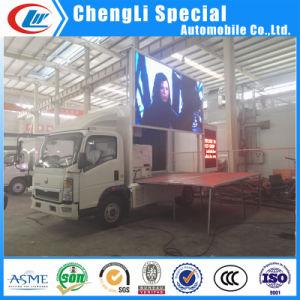 Tabellone per le affissioni portatile LED di Digitahi della fase di Dongfeng che fa pubblicità al camion
