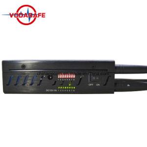 Stampo del segnale dell'emittente di disturbo del segnale di GSM/CDMA/WiFi/4G Lte, Portable dell'emittente di disturbo del segnale di frequenza ultraelevata di VHF dell'isolante CDMA GSM 3G del segnale del telefono mobile