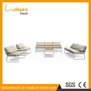 Garten-Patio-im Freienmöbel-Freizeit-Aufenthaltsraum-Aluminiumsofa-Set