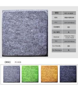 Faser-akustische Panels  des Tastatur-Form- fehlerfreie abdeckende Polyester-3D