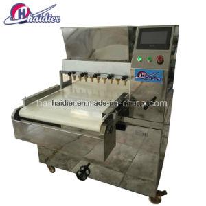 PLC van het roestvrij staal de Volledige Automatische Commerciële Machine van het Koekje van de Snack met de Besnoeiing van de Pijp en van de Draad