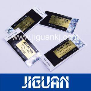 Custom différents noms de produit flacon 10 ml d'étiquettes laser