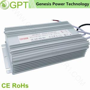 300W 12V 24V CCTVの切換えのモード防水AC DC LEDの変圧器ドライバー電源、単一の出力スイッチモードの電源屋外IP67 LEDライトストリップ