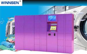24/7 Kast van de Wasserij van de Creditcard van de Dienst Voor het Winkelcomplex van het Centrum van de Stad