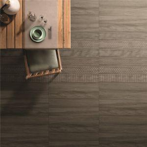 Bouwmateriaal 150*900mm Hout kijkt de Rustieke Tegel van de Vloer van het Porselein (CAD915)