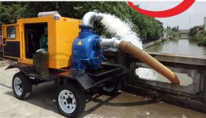 4 pouces de 6 pouces d'eau sale de la pompe à eau Honda Diesel