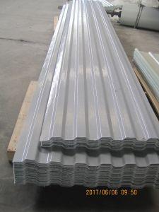 Glassfiber feuille en plastique renforcé de toit ondulé, GRP la lumière du soleil de bord