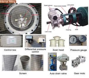 Cooling Towerのための自動自己Cleaning Stainless Steel Water Filter