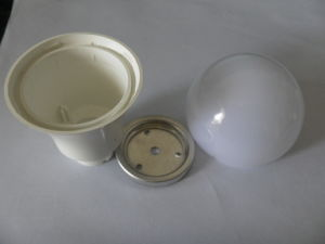 Carcaça da lâmpada do diodo emissor de luz da série 5W do JJ