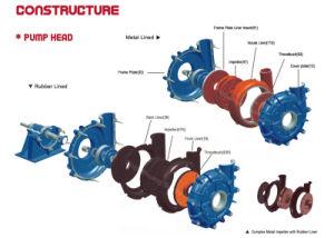 Heiße verkaufende horizontale zentrifugale Schlamm-Pumpe/Grubenpumpe/Kohle-waschende Pumpe