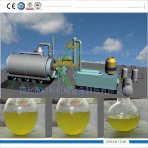 기름 열분해 플랜트의 기초를 두기 위하여 세련하는 15 톤 기름 진창