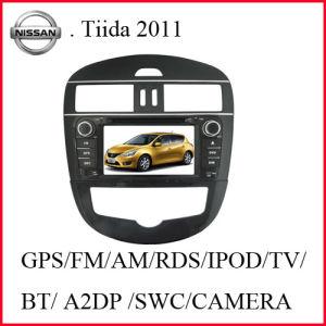닛산 Tiida 2011년 (높은 장비)에서 차 DVD 플레이어