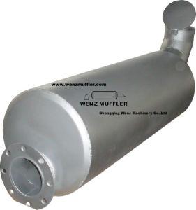 Глушитель (Cummins QSK19AA-P760)
