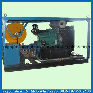 디젤 엔진 압력 세탁기 고압 하수 오물 청소 기계
