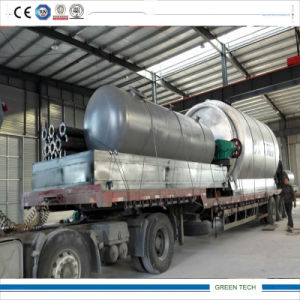 Continuous 5 Ton Crude Oil Refinery Machine Getting Diesel
